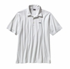 Patagonia Mens Polo Trout Fitz Roy White