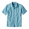Patagonia Mens Puckerware Shirt Fluke: Birch White