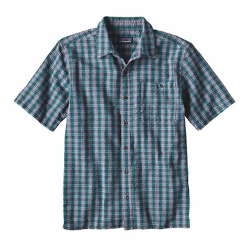 Patagonia Mens Puckerware Shirt Whitewater