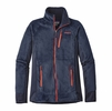 Patagonia Mens R2 Fleece Jacket Navy Blue/ Paintbrush Red