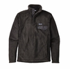Patagonia Mens Re-Tool Snap-T Fleece Pullover Black