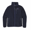 Patagonia Mens Retro Pile Fleece Jacket Navy Blue