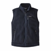Patagonia Mens Retro Pile Fleece Vest Navy Blue