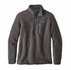 Patagonia Mens Retro Pile Pullover Forge Grey