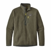 Patagonia Mens Retro Pile Pullover Industrial Green