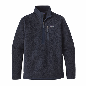 Patagonia Mens Retro Pile Pullover Navy Blue (close out)