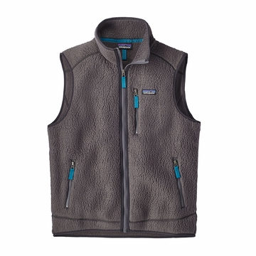Patagonia Mens Retro Pile Vest Forge Grey  (close out)