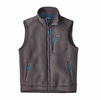 Patagonia Mens Retro Pile Vest Forge Grey