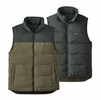 Patagonia Mens Reversible Bivy Vest Industrial Green