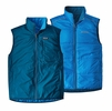 Patagonia Mens Reversible Crankset Vest Big Sur Blue