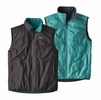 Patagonia Mens Reversible Crankset Vest Ink Black