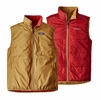Patagonia Mens Reversible Crankset Vest Oaks Brown