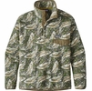 Patagonia Mens Synchilla Snap-T Fleece Pullover Leaping: Industrial Green