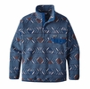 Patagonia Mens Synchilla Snap-T Fleece Pullover Lifecycle: Glass Blue
