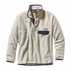 Patagonia Mens Synchilla Snap-T Fleece Pullover Oatmeal Heather (Close Out)