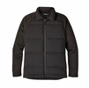Patagonia Mens Ukiah Down Hybrid Jacket Black