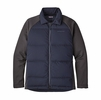 Patagonia Mens Ukiah Down Hybrid Jacket Navy Blue