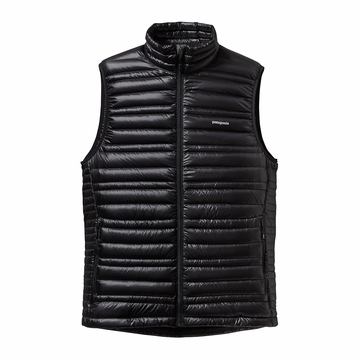 Patagonia Mens Ultralight Down Vest Black