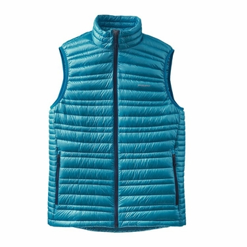 Patagonia Mens Ultralight Down Vest Grecian Blue
