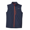 Patagonia Mens Wind Shield Vest Navy Blue