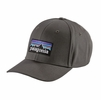 Patagonia P-6 Logo Roger That Hat Forge Grey