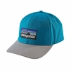 Patagonia P-6 Logo Roger That Hat Grecian Blue