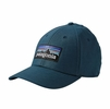 Patagonia P-6 Logo Stretch Fit Hat Bay Blue
