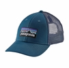 Patagonia P-6 LoPro Trucker Hat Big Sur Blue