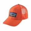 Patagonia P-6 LoPro Trucker Hat Campfire Orange