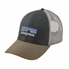 Patagonia P-6 LoPro Trucker Hat Carbon