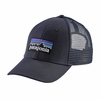 Patagonia P-6 LoPro Trucker Hat Navy Blue w/ Navy Blue