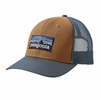 Patagonia P-6 Trucker Hat Bear Brown