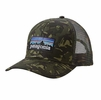 Patagonia P-6 Trucker Hat Fatigue Green