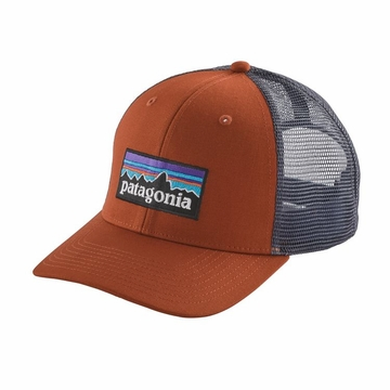 Patagonia P-6 Trucker Hat Copper Ore