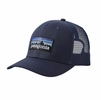 Patagonia P-6 Trucker Hat Navy Blue w/ Navy Blue (Close Out)