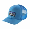 Patagonia P-6 Trucker Hat Radar Blue