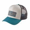 Patagonia Pickup Lines Trucker Hat White