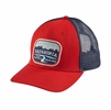 Patagonia Pointed West Trucker Hat French Red