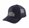 Patagonia Range Station Trucker Hat Navy Blue
