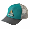 Patagonia Rollin' Thru Trucker Hat True Teal