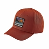 Patagonia Up & Out Roger That Hat Roots Red