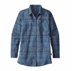 Patagonia Womens Aspen Forest Tunic River Aura Dobby/ Glass Blue