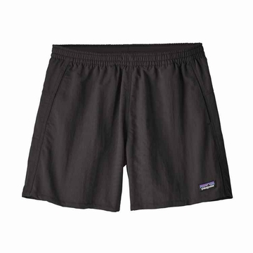 "Patagonia Womens Baggies Shorts 5"" Black"
