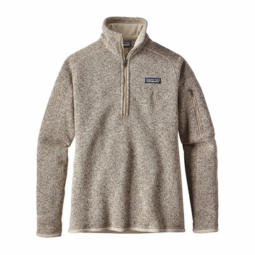 Patagonia Womens Better Sweater 1/4 Zip Fleece Pelican