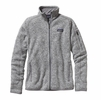 Patagonia Womens Better Sweater Fleece Jacket Birch White (Close Out)