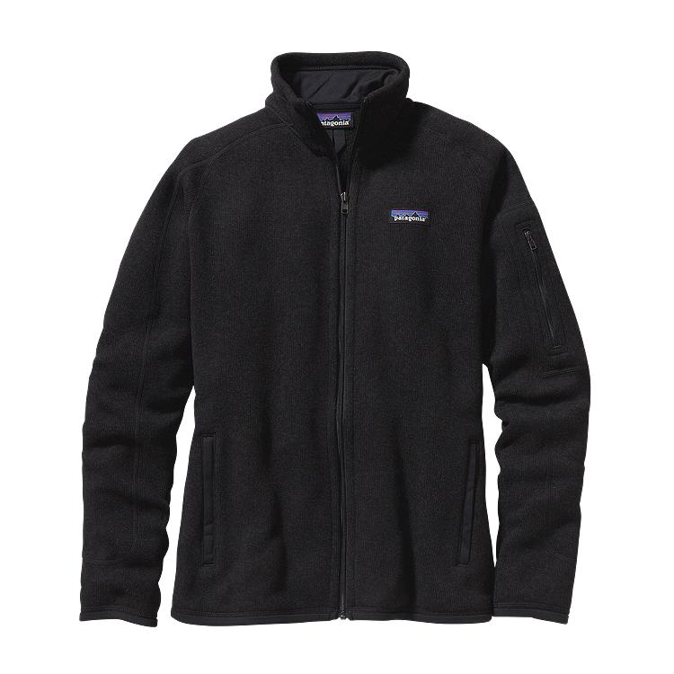 Patagonia Womens Better Sweater Fleece Jacket Black
