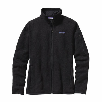 Patagonia Womens Better Sweater Fleece Jacket Black (Close Out)