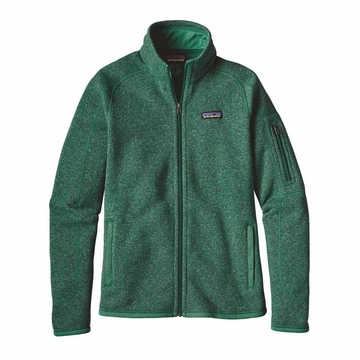Patagonia Womens Better Sweater Fleece Jacket Impact Green XL