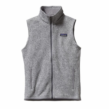 Patagonia Womens Better Sweater Fleece Vest Birch White (close out)
