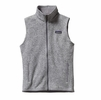 Patagonia Womens Better Sweater Fleece Vest Birch White